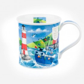 Dunoon Mugs Bute Harbour Life Blue