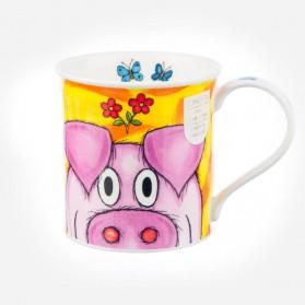Dunoon Mugs Bute Peepers pig