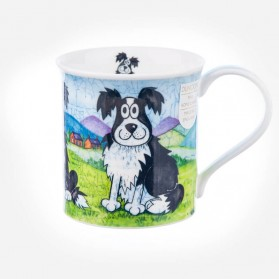 Dunoon Mugs Bute Daft Dogs Collie