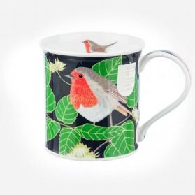 Dunoon Mugs Bute BIRD GARDEN Robin