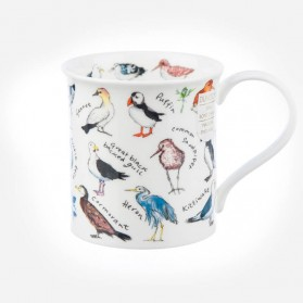 Dunoon Mugs Bute Birdlife Coastal Birds