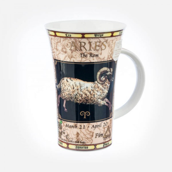 Dunoon Mugs Glencoe Zodiacs Aries