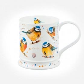 Dunoon Mugs IONA Garden Birds Blue tit