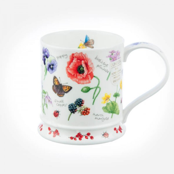 Dunoon Mugs IONA Nectar Poppy