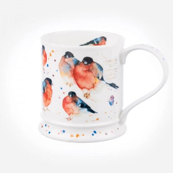 Dunoon Mugs IONA Garden Birds Bullfinch