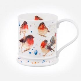 Dunoon Mugs IONA Garden Birds Robin
