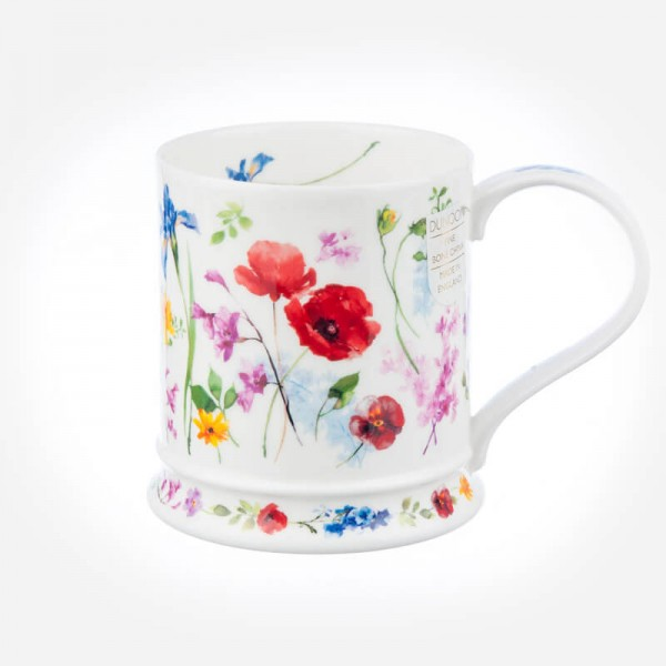 Dunoon Mugs IONA Fleurie Poppy