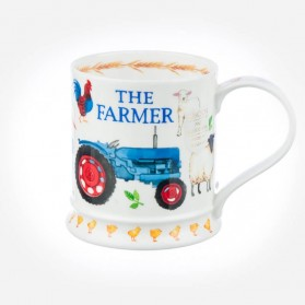 Dunoon Mugs IONA Characters the Farmer