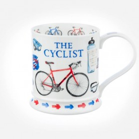 Dunoon Mugs IONA Characters the Cyclist
