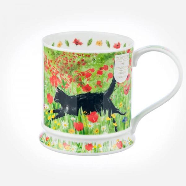 Dunoon Mugs IONA Running Free Cat