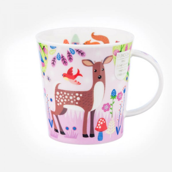 Dunoon Mugs Lomond Enchanted Wood Deer
