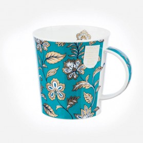 Dunoon mugs Lomond Topaz Flower