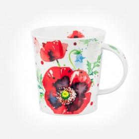Dunoon Mugs Lomond Giardino Poppy