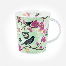 Dunoon Mugs Lomond Tea Garden Green
