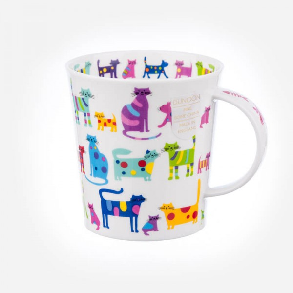 Dunoon Mugs Lomond Colourful cats