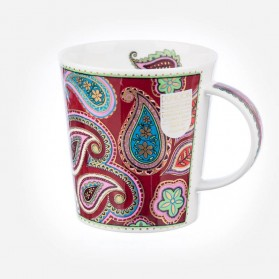 Dunoon mugs Lomond Persia Burgundy