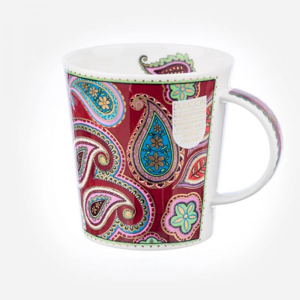 Dunoon mugs Lomond Persia Burgundy