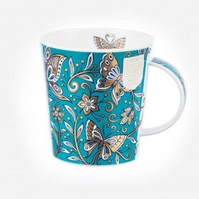 Dunoon mugs Lomond Topaz Butterfly
