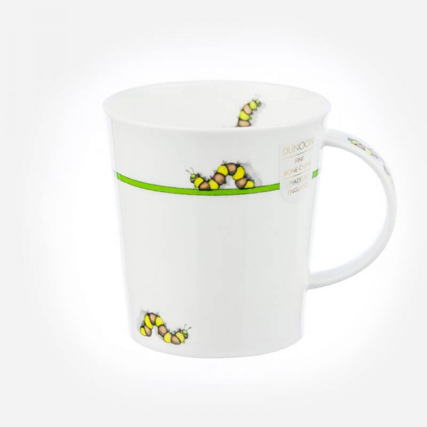 Dunoon Lomond Bug Mugs Green