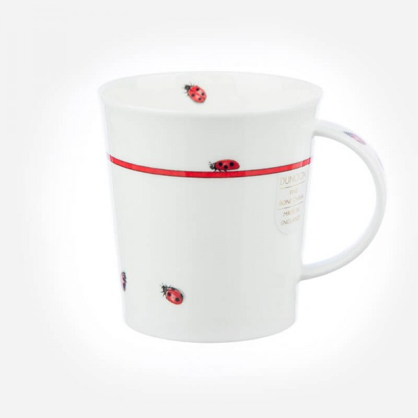 Dunoon Lomond Bug Mugs Red