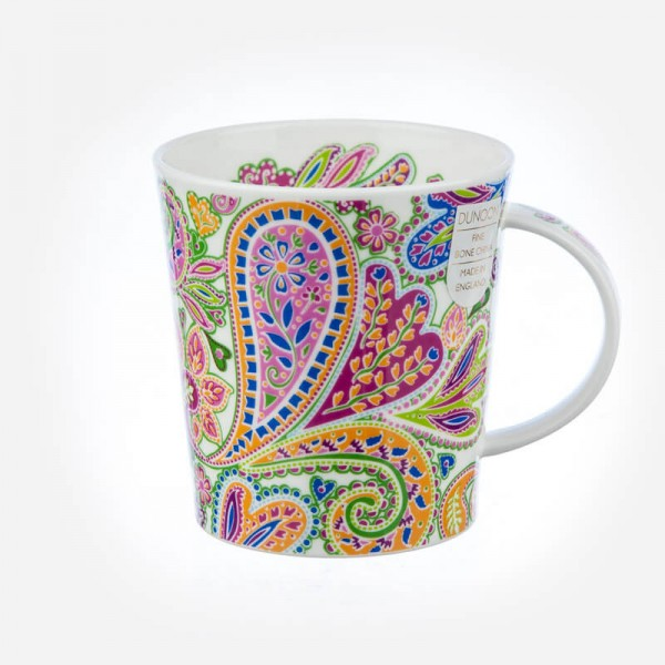 Dunoon mugs Lomond Paisley Blue
