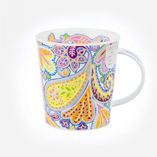 Dunoon mugs Lomond Paisley Green
