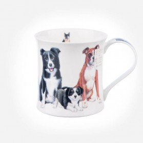 Dunoon Mugs Wessex Dogs & Puppies Collie