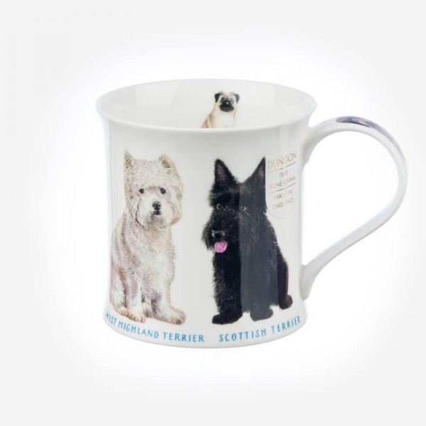 Dunoon Mugs Wessex Show Dogs Westie