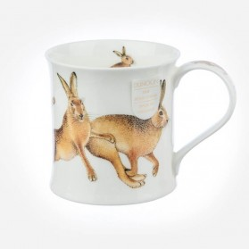 Dunoon Mugs Wessex hares Leaping