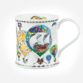 Dunoon Mugs Wessex Montgolifier Ship