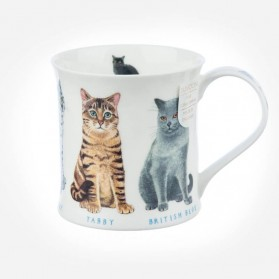 Dunoon Mugs Wessex Show Cats Tabby