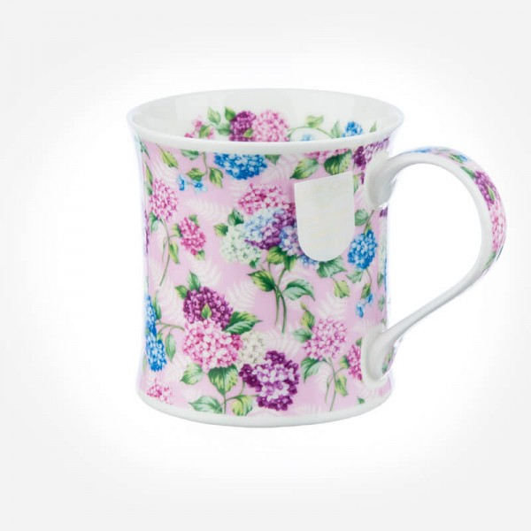 Dunoon Mugs Wessex Staffordshire Chintz Pink