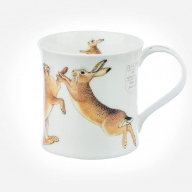Dunoon Wessex hares Boxing mug