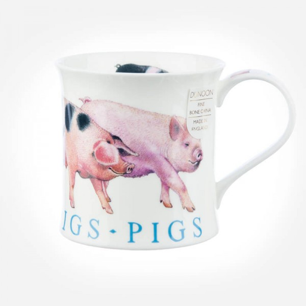 Dunoon Mugs Wessex Farm Animals Pigs