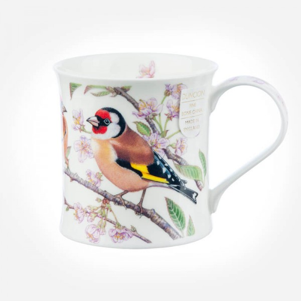 Dunoon Mugs Wessex BirdLife Collection Goldfinch mug