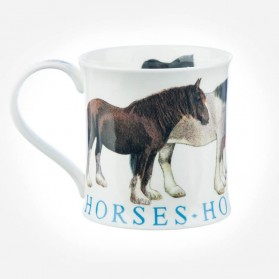 Dunoon Mugs Wessex Farm Animals Horses