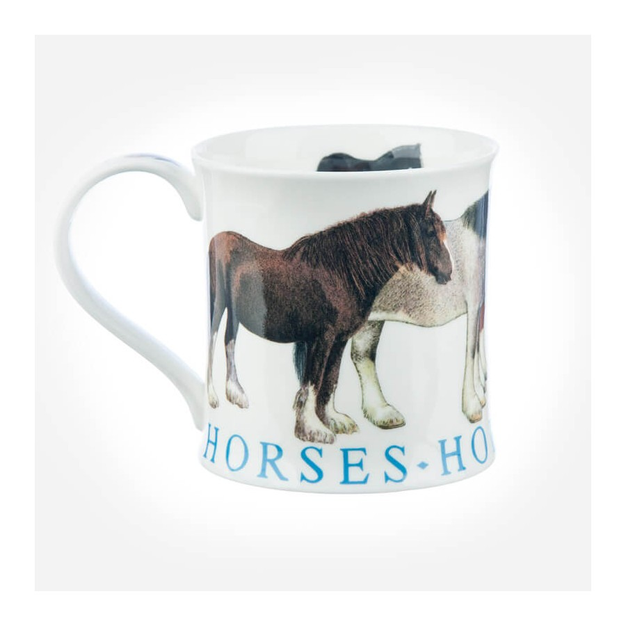 Dunoon Mugs Wessex Farm Animals Horses