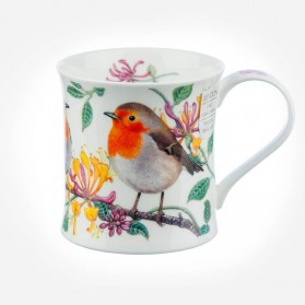 Dunoon Mugs Wessex BirdLife Collection Robin mug