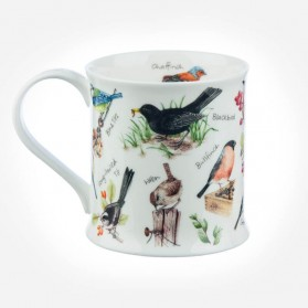 Dunoon Mugs Wessex Jane Fern Collection Gift Box Birdlife