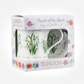 Dunoon Mugs WESSEX Flower Of The Month January