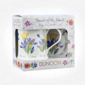 Dunoon Mugs WESSEX Flower Of The Month February