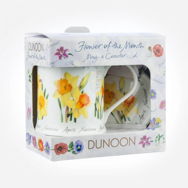 Dunoon Mugs WESSEX Flower Of The Month April