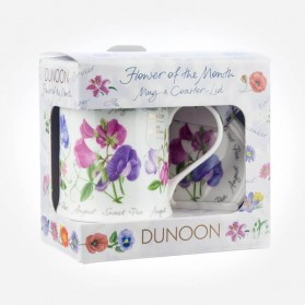 Dunoon Mugs WESSEX Flower Of The Month August