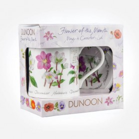Dunoon Mugs WESSEX Flower Of The Month December