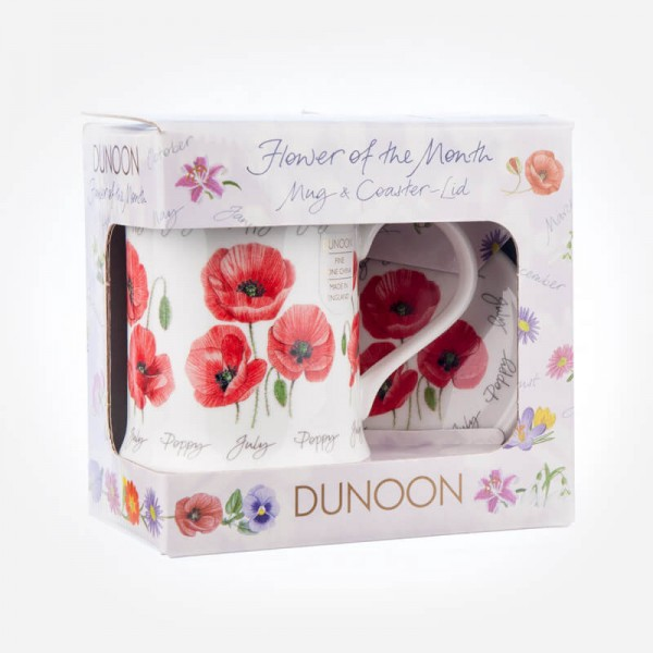 Dunoon Mugs WESSEX Flower Of The Month July