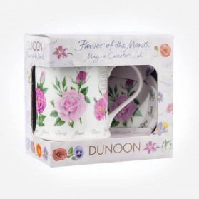 Dunoon Mugs WESSEX Flower Of The Month June