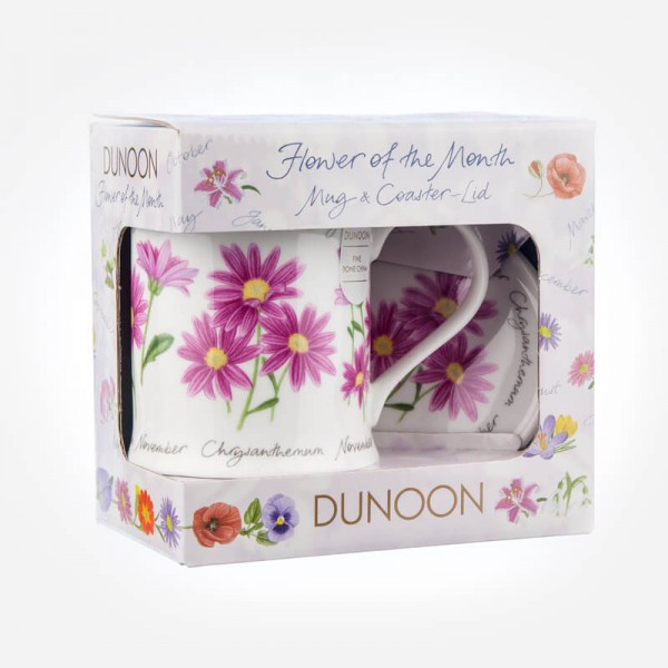 Dunoon Mugs WESSEX Flower Of The Month November