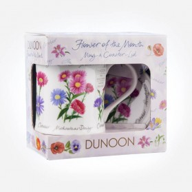 Dunoon Mugs WESSEX Flower Of The Month October