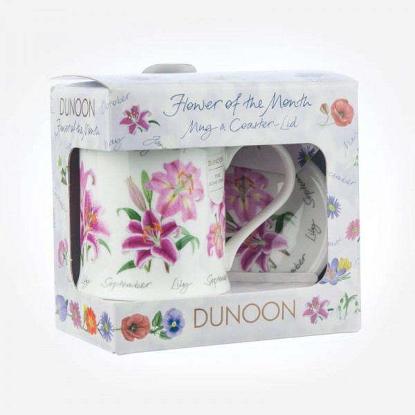 Dunoon Mugs WESSEX Flower Of The Month September