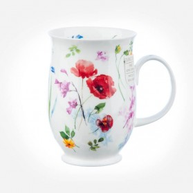Dunoon Mugs Suffolk Fleurie Poppy